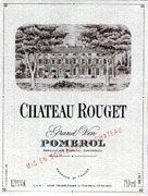 Chateau Rouget  1998 Front Label