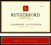 Rutherford Ranch Cabernet Sauvignon 2003 Front Label