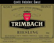 Trimbach Cuvee Frederic Emile Riesling 2000 Front Label