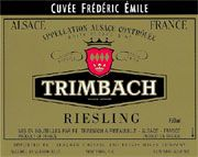 Trimbach Cuvee Frederic Emile Riesling (375ML half-bottle) 2000 Front Label