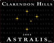 Clarendon Hills Astralis Syrah 2004 Front Label