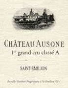 Chateau Ausone  2002 Front Label