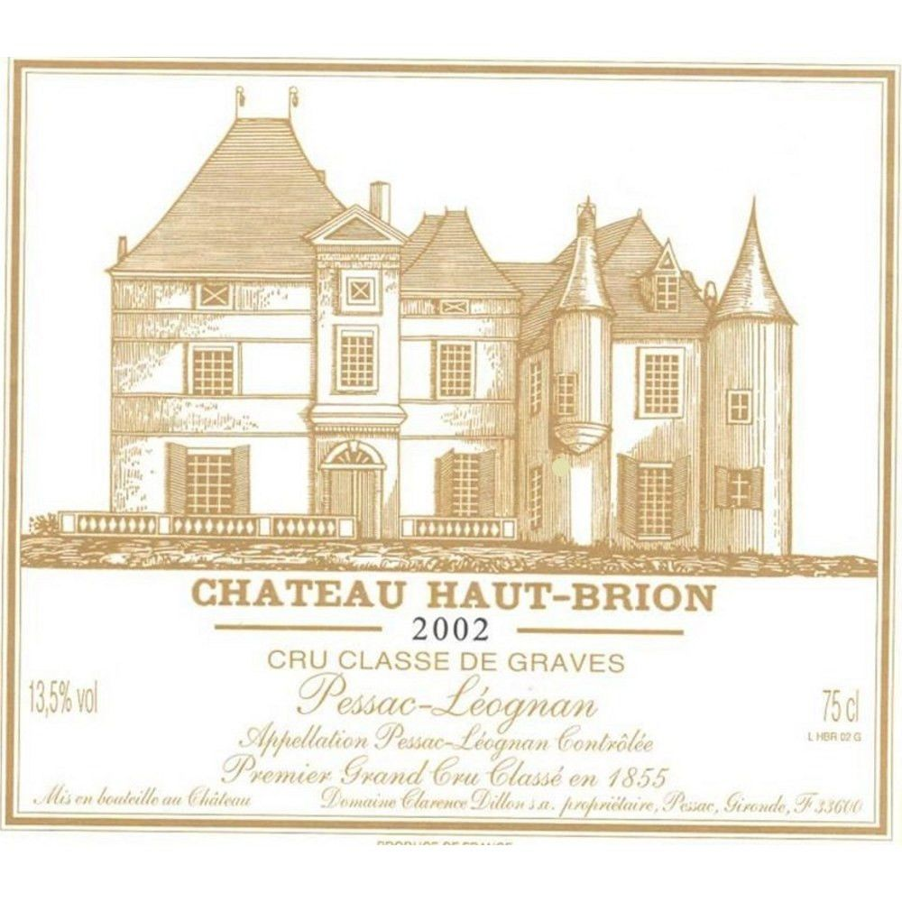 Chateau Haut-Brion  2002 Front Label
