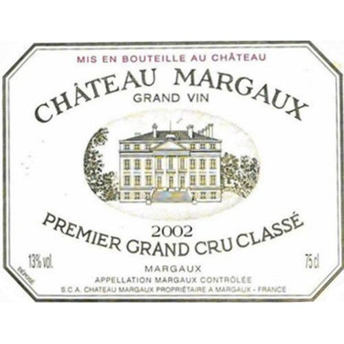 Chateau Margaux  2002 Front Label