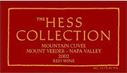 Hess Mountain Cuvee 2002 Front Label