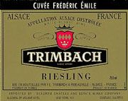 Trimbach Cuvee Frederic Emile Riesling 2003 Front Label