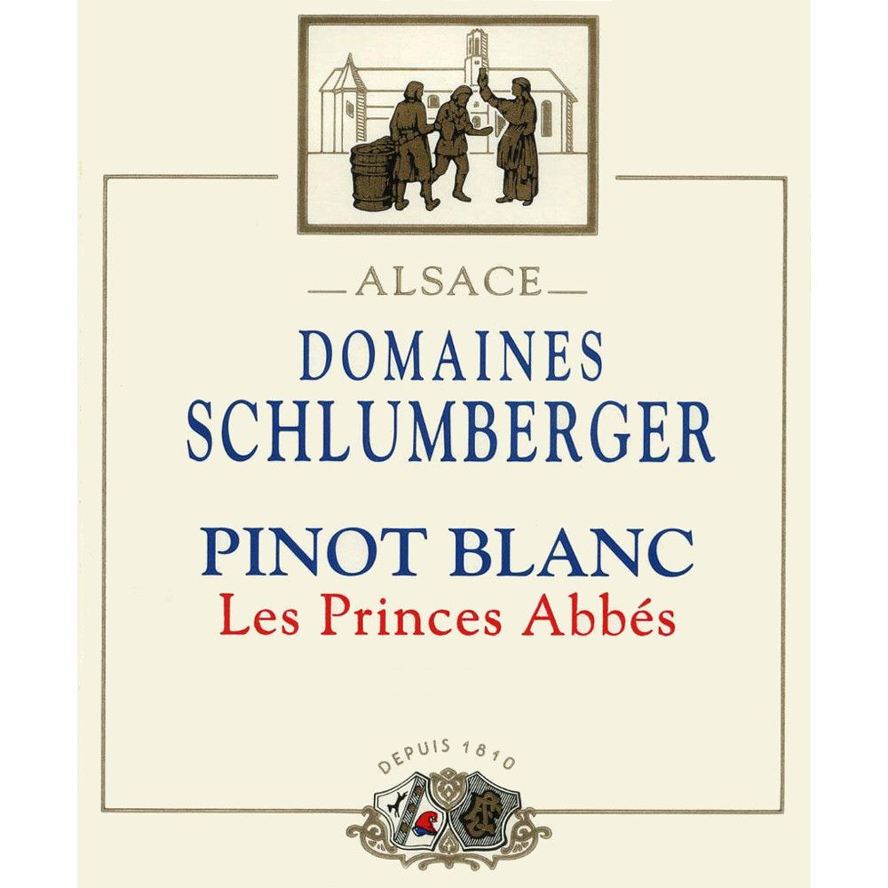 Domaines Schlumberger Pinot Blanc 2005 Front Label