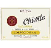 Julian Chivite Colleccion 125 Reserva (375ml half bottle) 2001 Front Label
