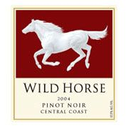 Wild Horse Pinot Noir 2004 Front Label