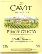 Cavit Pinot Grigio (half-bottle) 2004 Front Label