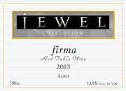 Jewel Firma 2003 Front Label