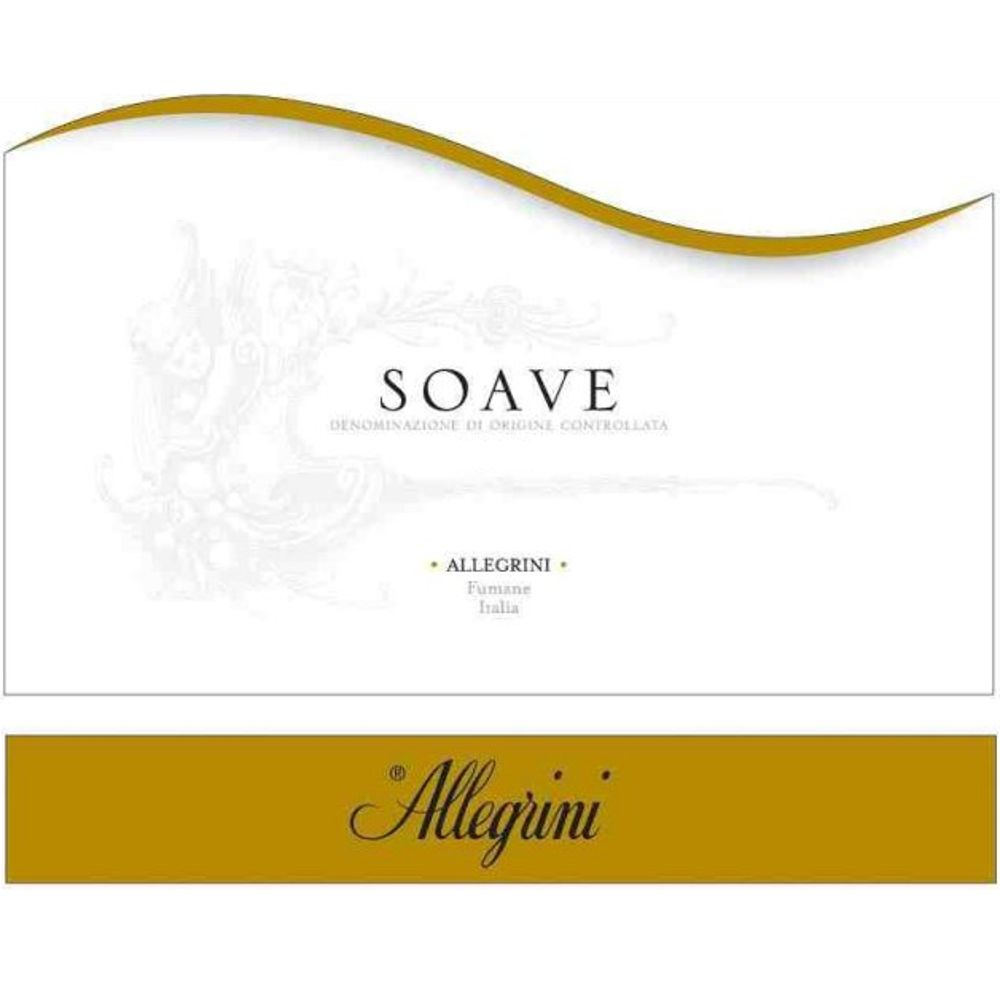 Allegrini Soave 2005 Front Label