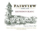 Fairview Sauvignon Blanc 2006 Front Label