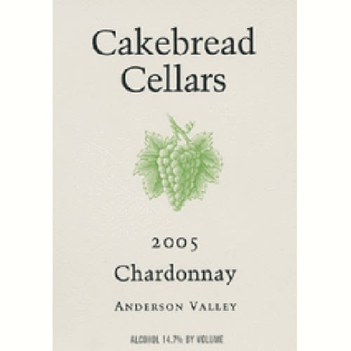 Cakebread Chardonnay 2005 Front Label