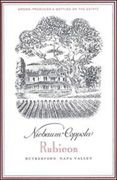 Inglenook Rubicon 2002 Front Label