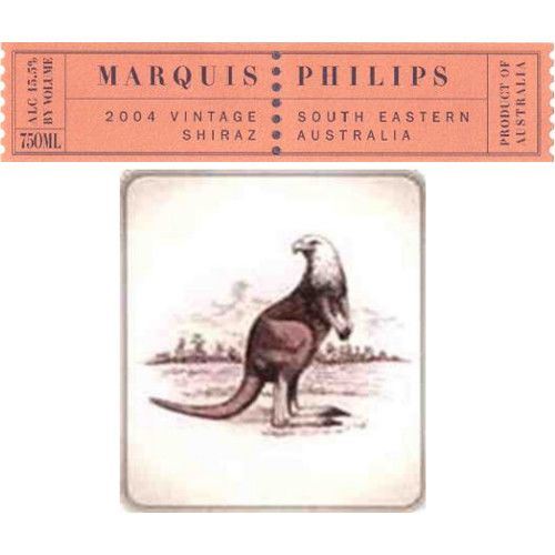 Marquis Philips Shiraz 2005 Front Label