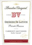 Beaulieu Vineyard Georges de Latour Private Reserve (1.5 Liter Magnum) 1998 Front Label