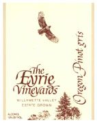 Eyrie Pinot Gris 2004 Front Label