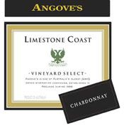 Angove Family Winemakers Limestone Coast Chardonnay 2005 Front Label