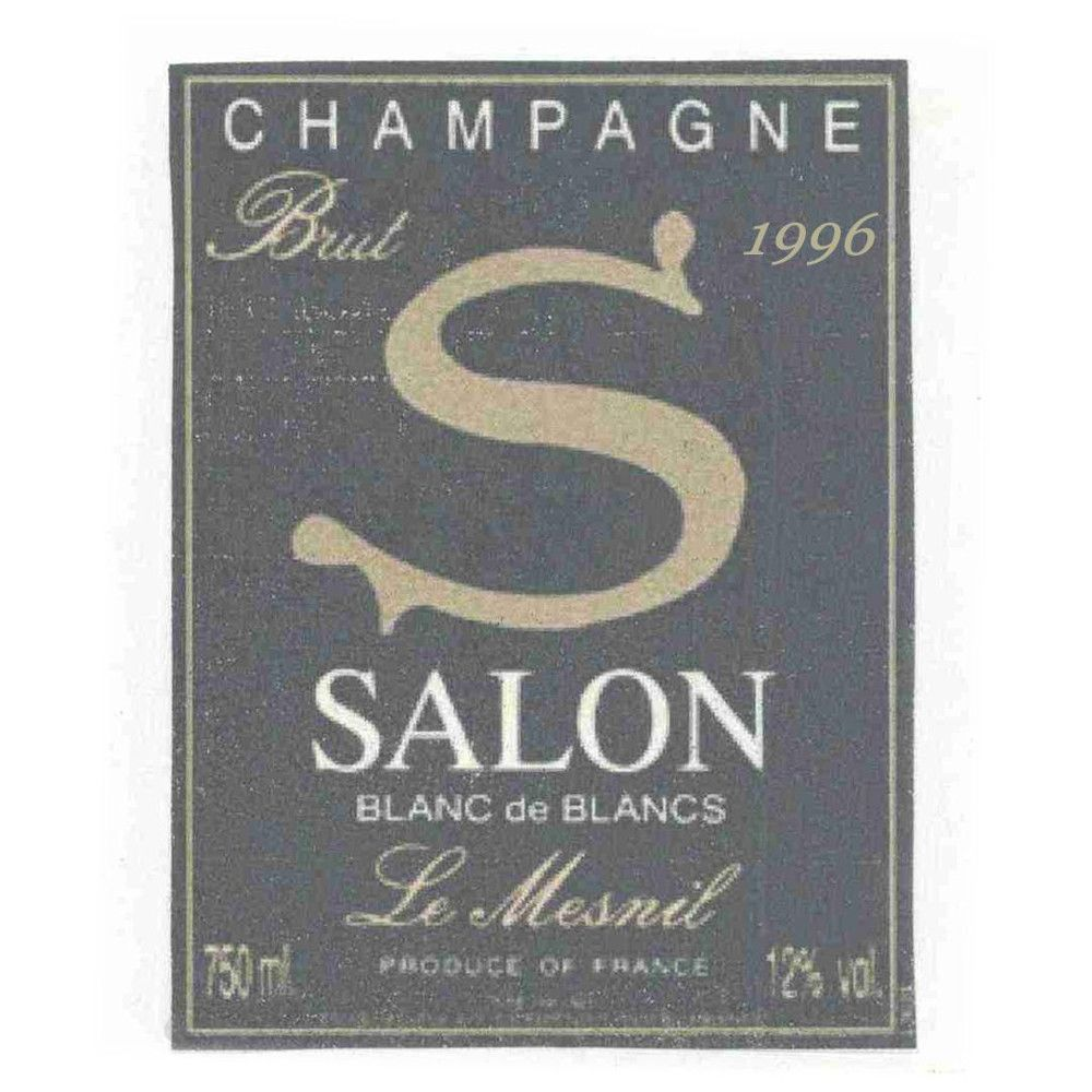 Salon Blanc de Blancs Le Mesnil (in Gift Box) 1996 Front Label