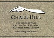 Chalk Hill Sauvignon Blanc 2004 Front Label