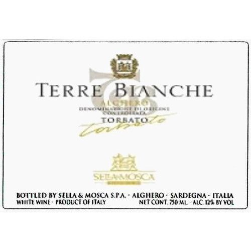 Sella & Mosca Terre Bianche 2005 Front Label