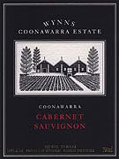 Wynns Coonawarra Estate Black Label Cabernet Sauvignon 2003 Front Label