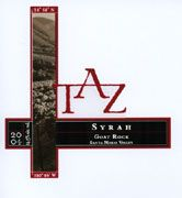 TAZ Goat Rock Syrah 2004 Front Label