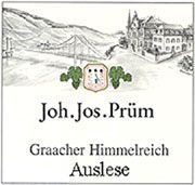 J.J. Prum Graacher Himmelreich Auslese Riesling 2004 Front Label