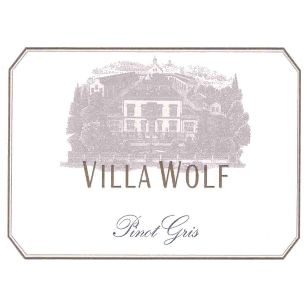 Villa Wolf Pinot Gris 2005 Front Label