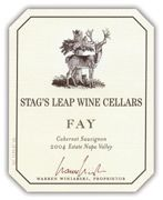 Stag's Leap Wine Cellars Fay Vineyard Cabernet Sauvignon 2004 Front Label