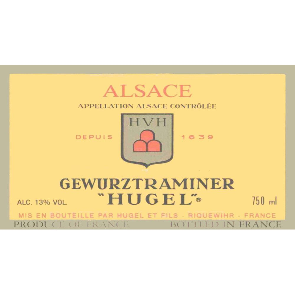 Hugel Gewurztraminer 2005 Front Label