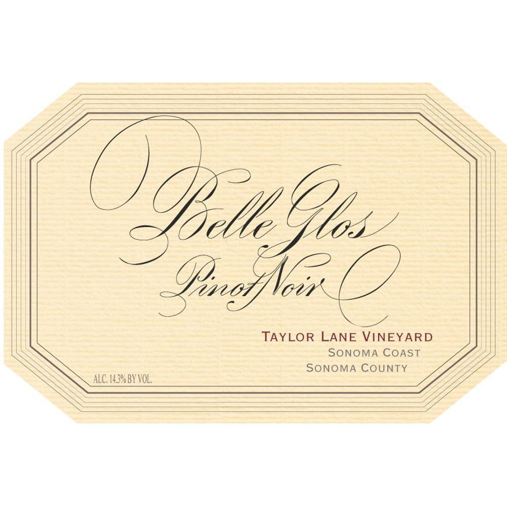 Belle Glos Taylor Lane Vineyard Pinot Noir 2005 Front Label