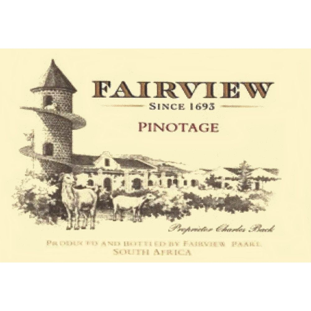 Fairview Pinotage 2006 Front Label