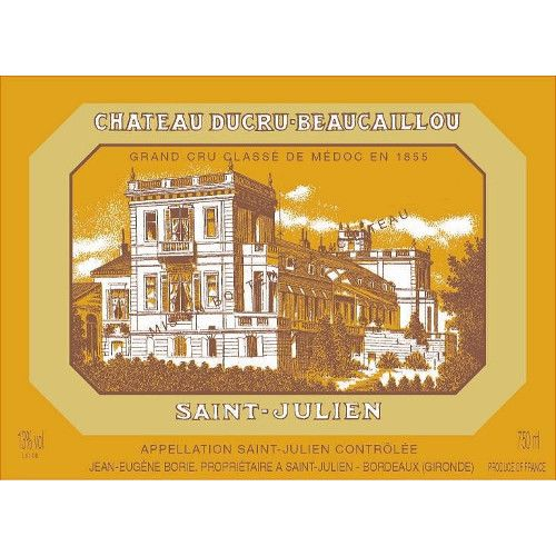 Chateau Ducru-Beaucaillou  2001 Front Label