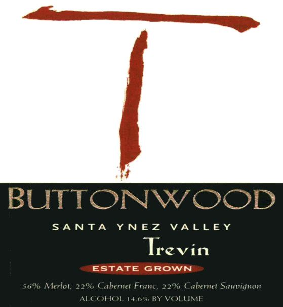 Buttonwood Farms Estate Trevin Red 2011 Front Label