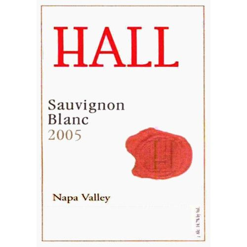 Hall Napa Valley Sauvignon Blanc 2005 Front Label