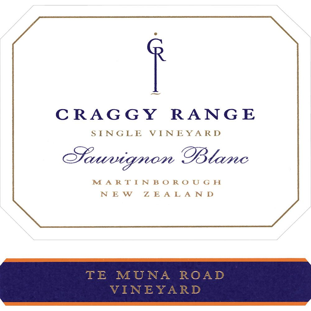 Craggy Range Winery Te Muna Road Vineyard Sauvignon Blanc 2006 Front Label