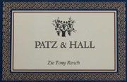 Patz & Hall Zio Tony Ranch Chardonnay 2004 Front Label