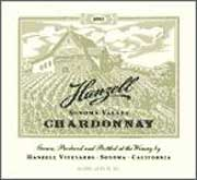Hanzell Chardonnay 2004 Front Label