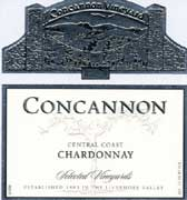 Concannon Selected Vineyards Chardonnay 2005 Front Label