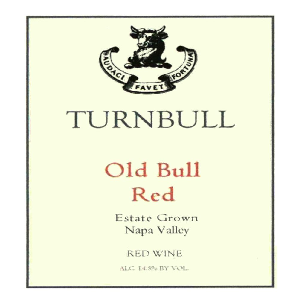 Turnbull Old Bull Red 2005 Front Label