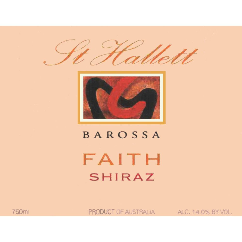 St Hallett Faith Shiraz 2005 Front Label
