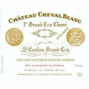 Chateau Cheval Blanc  2000 Front Label