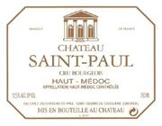 Chateau Saint-Paul Haut-Medoc 2004 Front Label