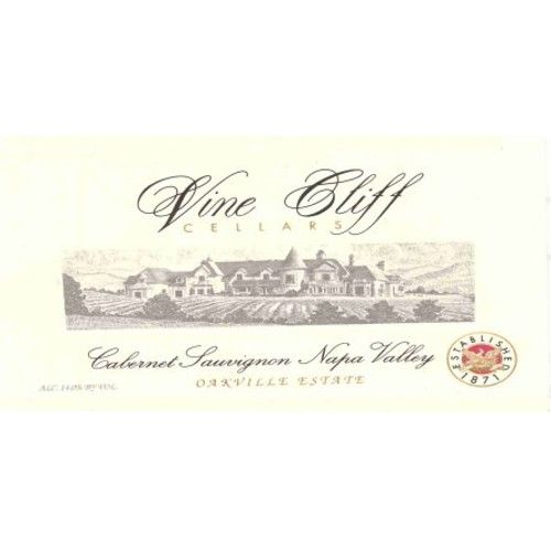 Vine Cliff Napa Valley Cabernet Sauvignon (1.5-liter bottle) 2002 Front Label