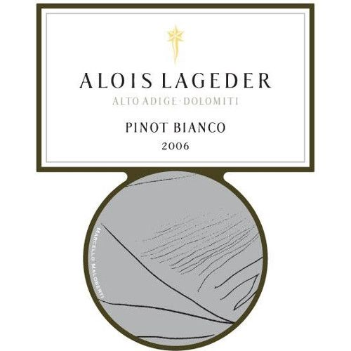 Alois Lageder Pinot Bianco 2006 Front Label