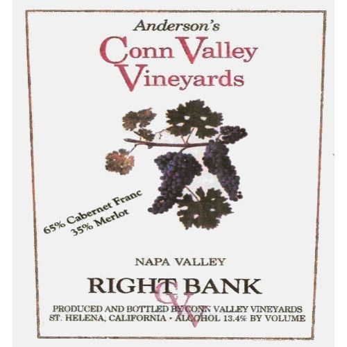Anderson's Conn Valley Vineyards Right Bank Proprietary Red Blend 2004 Front Label