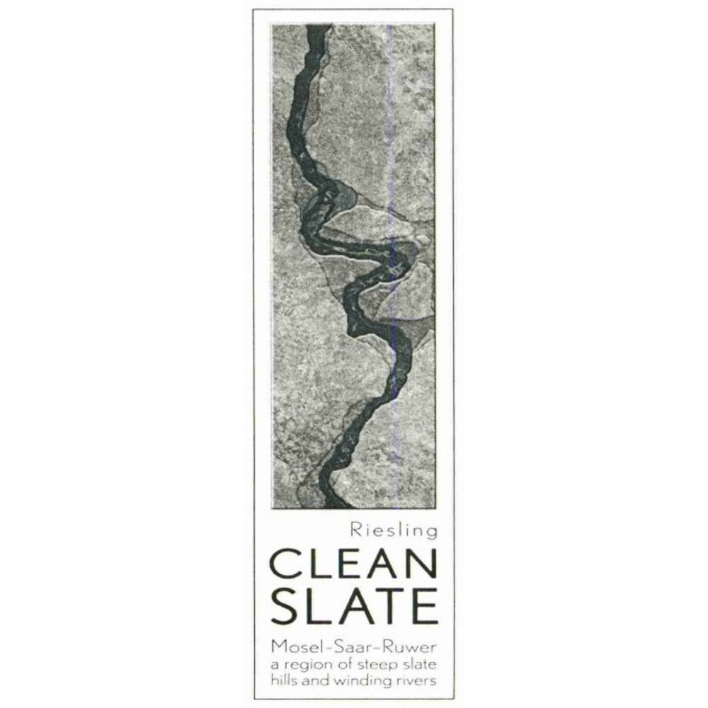 Clean Slate Riesling 2006 Front Label