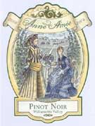 Anne Amie Winemaker's Selection Pinot Noir 2004 Front Label